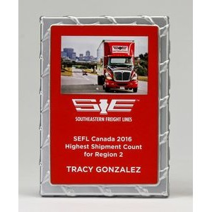 Medium Driver Plaque